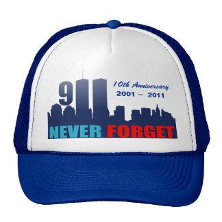 9/11 September 11th - 10th Anniversary Trucker Hat