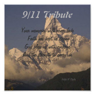9/11 tribute prints posters