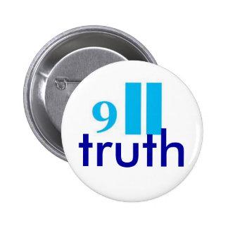 9-11 truth button-badge 6 cm round badge
