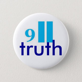 9-11 truth button-badge 6 cm round badge