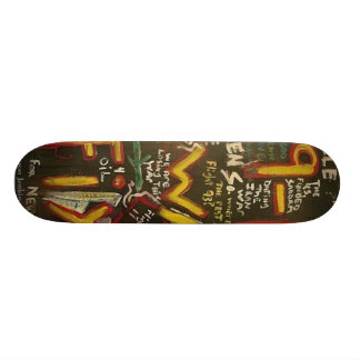 9-11 Was Fixed Black Skate Boards