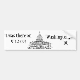 9/12/09 Rally, Washington, DC Bumper Sticker