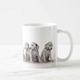9 Adorable Dalmatian Puppies Coffee Mug