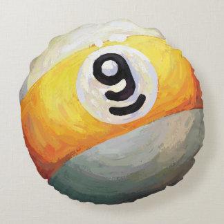 9 ball round cushion