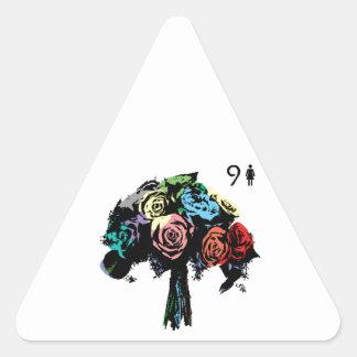 9 bouquet- lenormand sticker