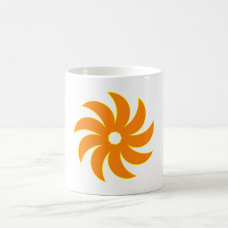 9 half-moons disk crescents disk coffee mugs