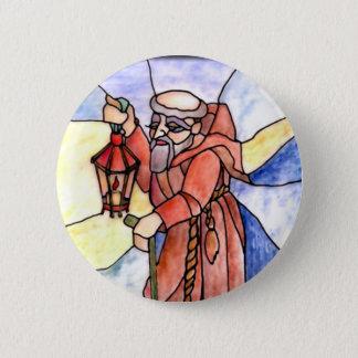 9 - Hermit 6 Cm Round Badge
