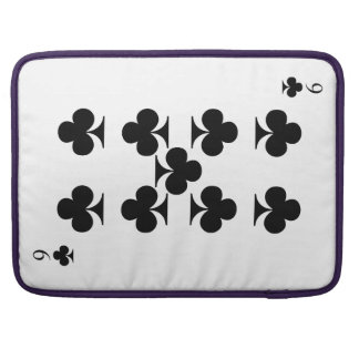 9 of Clubs Sleeve For MacBook Pro