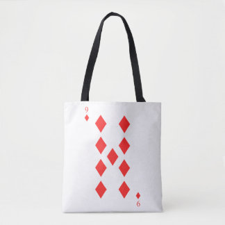 9 of Diamonds Tote Bag