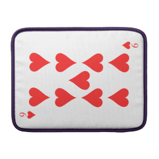 9 of Hearts Sleeve For MacBook Air