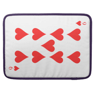 9 of Hearts Sleeve For MacBooks