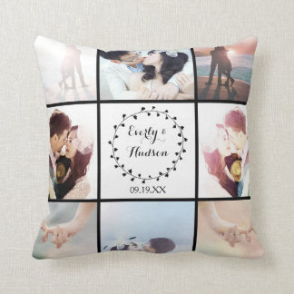9 of Your Instagram Photos Here Cushion