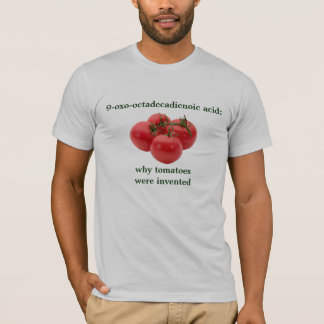 9-oxo-octadecadienoic acid: Why tomatoes invented T-Shirt