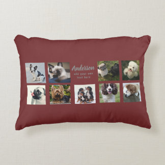 9 PET Photo MEMORIAL Collage Instagram Gift Decorative Cushion