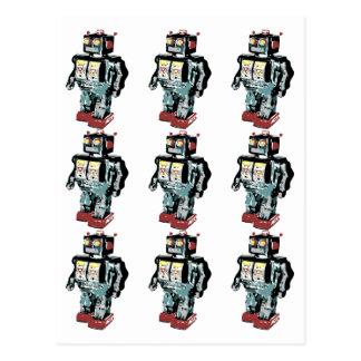 9 Robots Postcard