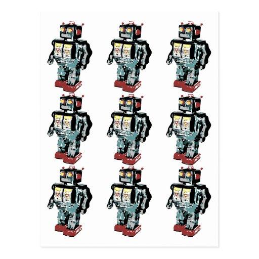 9 Robots Post Card