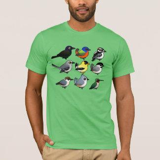 9 Southeast USA Backyard Birds T-Shirt
