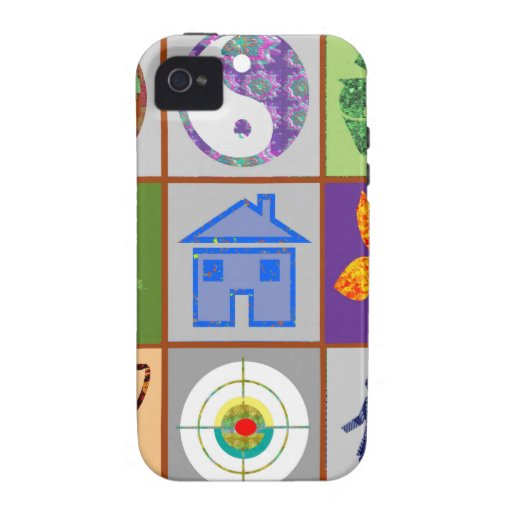 9 Symbols KIDS Story Engage Motivate Inspire GIFTS iPhone 4/4S Case