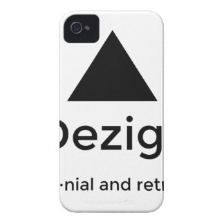 9Dezigns Millennial and Retro Gear Case-Mate iPhone 4 Cases