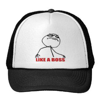 9GAG like a boss hat