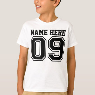 9th Birthday (Customizable Kid's Name) Tshirts