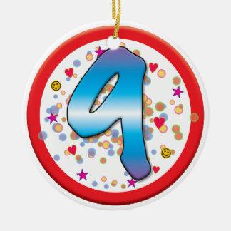 9th Birthday Ornaments