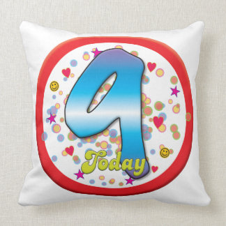 9th Birthday Today Pillows