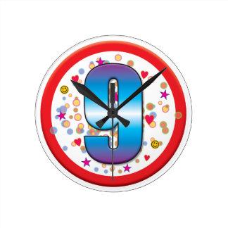 9th Birthday v2 Clocks