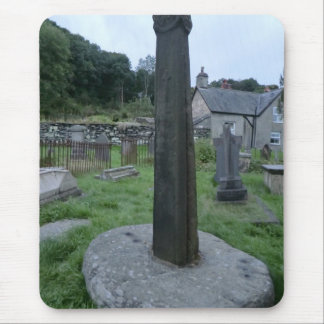 9th Century Preaching Cross, Corwen, Wales Mouse Pads