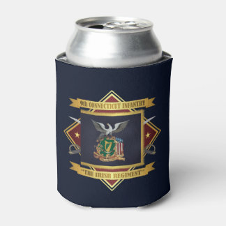 9th Connecticut Volunteer Infantry Can Cooler