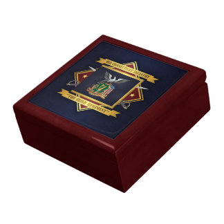 9th Connecticut Volunteer Infantry Large Square Gift Box