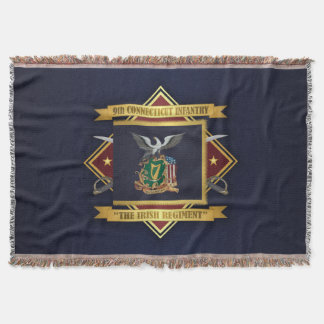 9th Connecticut Volunteer Infantry Throw Blanket