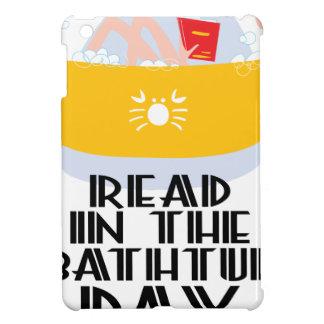 9th February - Read In The Bathtub Day iPad Mini Covers