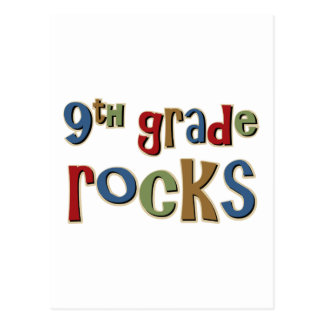 9th Grade Rocks Ninth Postcard