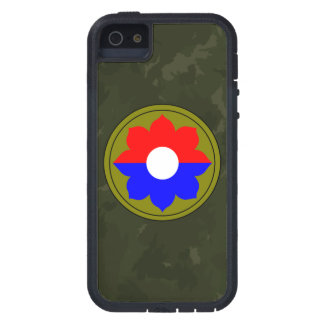 """9th Infantry Division""""Old Reliables"""" Dark Green iPhone 5 Case"""