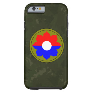 """9th Infantry Division""""Old Reliables"""" Dark Green iPhone 6 Case"""