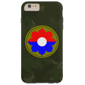 """9th Infantry Division""""Old Reliables"""" Dark Green iPhone 6 Plus Case"""