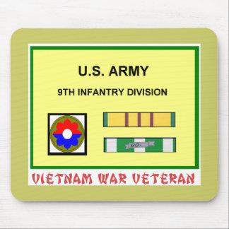 9TH INFANTRY DIVISION VIETNAM WAR VET MOUSE PAD