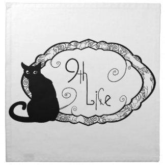 9th Life Napkin