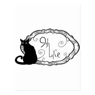 9th Life Postcard