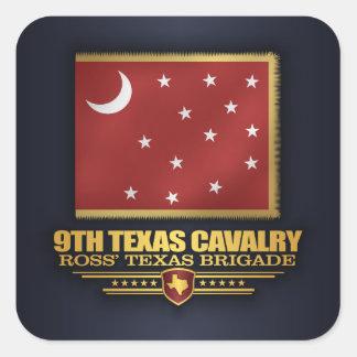 9th Texas Cavalry (v10) Square Sticker
