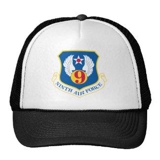 9th U S Air Force Mesh Hats