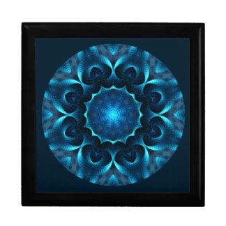 A01. Midnight Blue Mandala Tiled Box.1 Gift Box