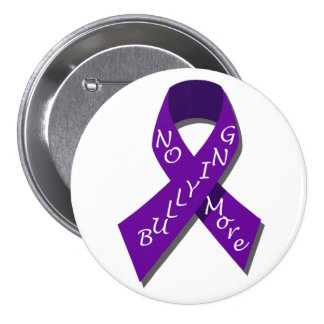 A02 Anti-Bullying Button.2 7.5 Cm Round Badge