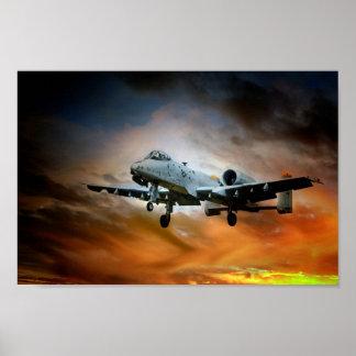 A10 Thunderbolt II Poster