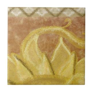 A2 - Sunface Mural, Top Middle - A2 Tile