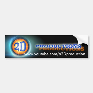a2Dproduction Bumper Sticker