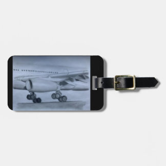 A330 Landing Luggage Tag