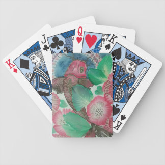 A5 koi bicycle playing cards