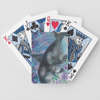 A5 orca bicycle playing cards